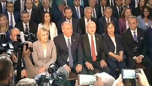CHPde büyük gün... Kılıçdaroğlu seçim bildirgesini açıkladı...