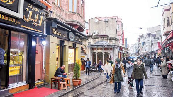 İstanbulda mini Suriye