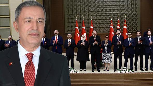 Yeni kabinenin Milli Savunma Bakanı Hulusi Akar kimdir