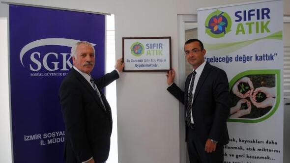 SGK İzmir Sıfır Atık Projesinin ilk adımını attı