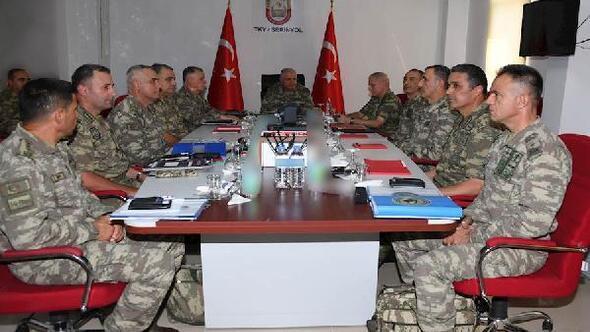 Genelkurmay Başkanı Güler, Suriye sınırında (2)