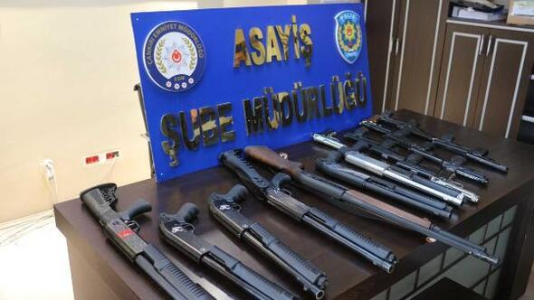 Çankırıda son 3 ay içinde 120 silah ele geçirildi