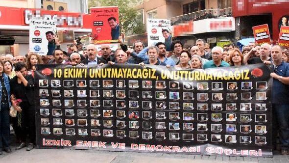 Ankara saldırısında ölenler anıldı