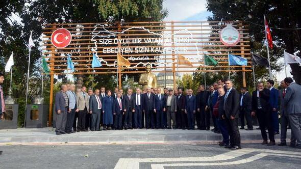 Bildergebnis für MHP Genel Başkan Yardımcısı Edip Semih Yalçın, Oğuzeli ilçesini ziyaret etti.