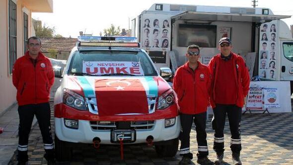 Nevşehir UMKE'ye yeni tam donanımlı araç