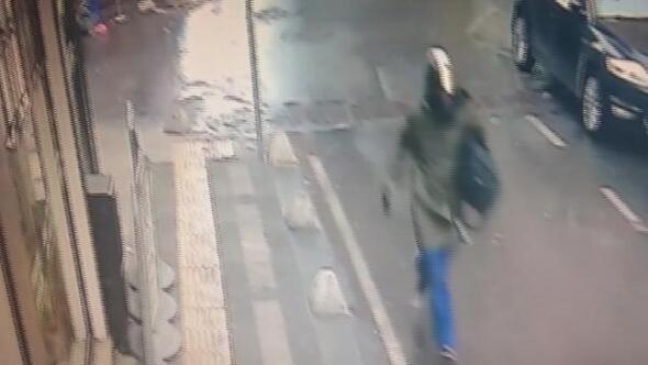 Kağıthanedeki soygun kamerada