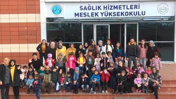 Kilis Haberleri: Üniversite öğrencilerinden Minik Eller Hayallerini Yaşıyor projesi 79