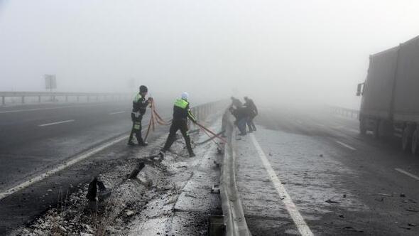 Merkez Haberleri: Ardahanda sis ve buzlanma kazalara yol açtı 82