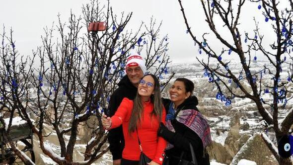 Kapadokyada kış başka güzel