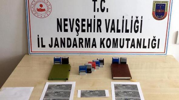 Nevşehir'de sahte çekle inşaat malzemesi alan dolandırıcılar yakalandı