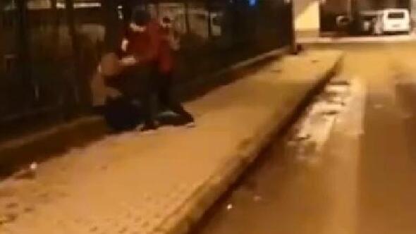 Sosyal medyada yayılan kurgu bıçaklama olayında yeni görüntüler ortaya çıktı