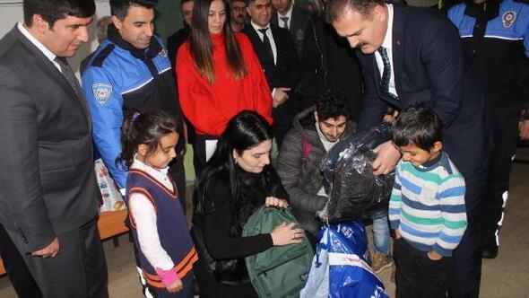 Hakkarili öğrencilere İstanbuldan yardım eli
