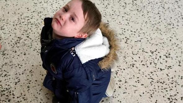 4 yaşındaki Görkem, karne almak için ağladı