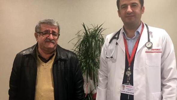 Diyarbakır Haberleri: Kalbi duran emekli öğretmeni, doktor olan öğrencisi hayata döndürdü