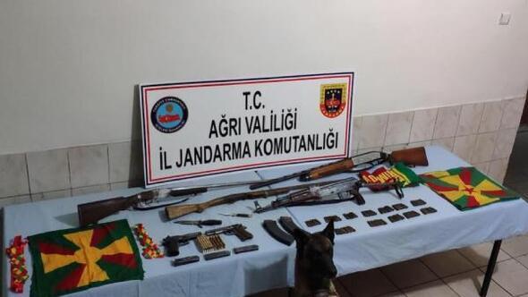 Merkez Haberleri: Ağrıda PKKKCK operasyonunda silah ve mühimmat ele geçti 36