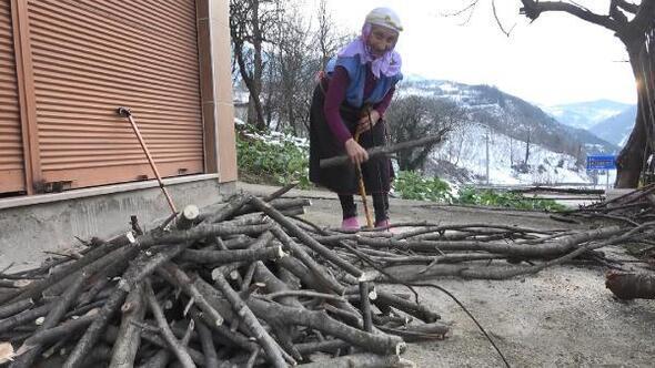 Karadenizli kadınlar, her mevsim çalışkan