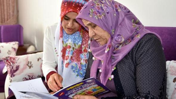 Van Haberleri: Gelin ile kaynana okuma- yazma kursunda
