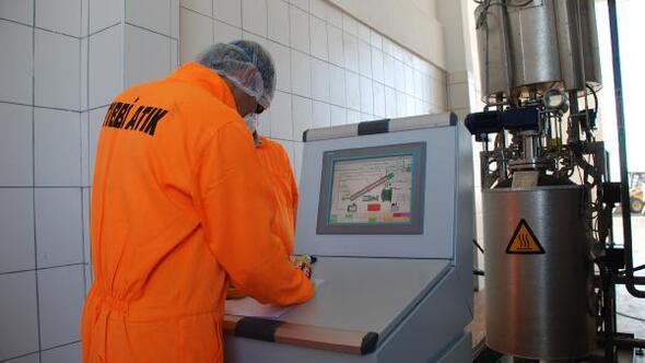 Konya Büyükşehir Belediyesinde çevreci tesiste, tıbbi atıklar bertaraf ediliyor