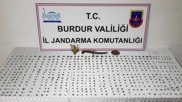 Burdur Haberleri: Burdurda Bizans dönemi 610 sikke ele geçirildi 17
