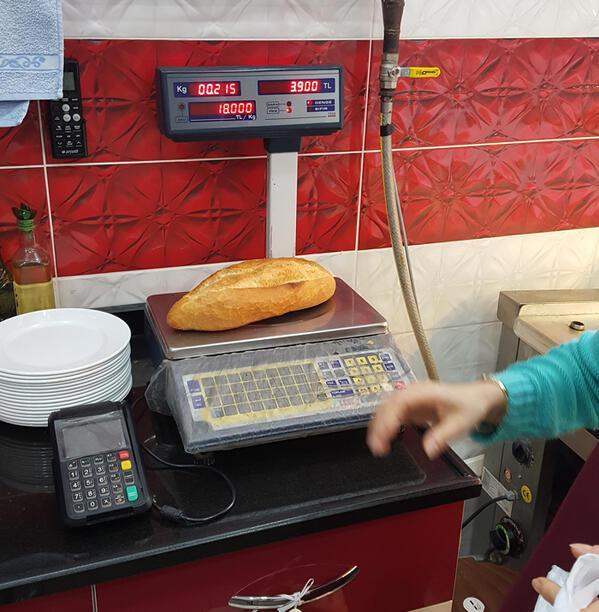 Kafalar karışık Aldığınız ekmek gerçekte kaç gram