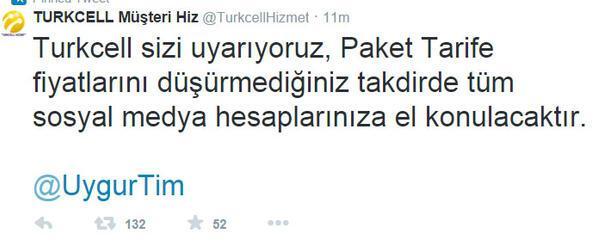 Turkcell Müşteri Hizmetleri Twitter Hesabı Hacklendi Sondakika