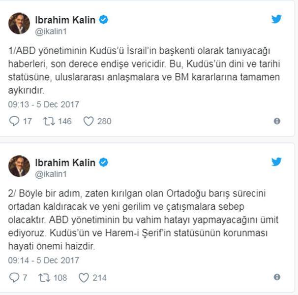 Ankaradan ABDye uyarı
