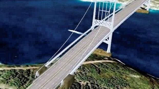 3'üncü köprü Garipçe-Poyraz'dan geçecek, 6 milyar dolara bitecek