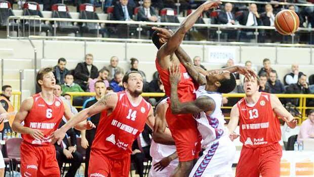 Trabzonspor Medical Park 89 - 79 Antwerp Giants