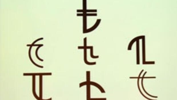 İşte TL'nin simgesi