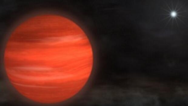 Jüpiter'den 13 kat daha büyük bir gezegen bulundu