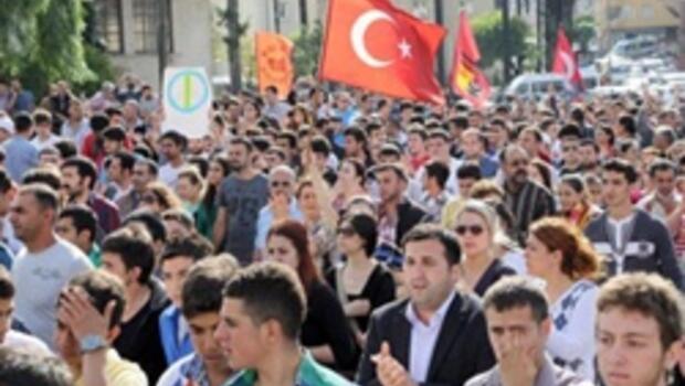 Hatay'da protesto yürüyüşü