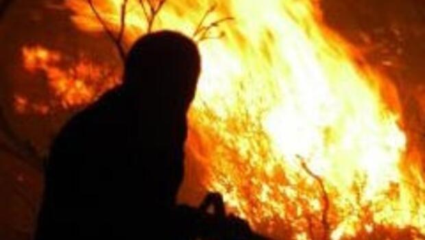 Çankırı'nın köyünde büyük yangın