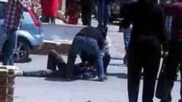 Kuşadası'nda genci kafasından vuran polise görevden uzaklaştırma