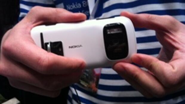 Nokia'dan 41 megapiksel kameralı telefon