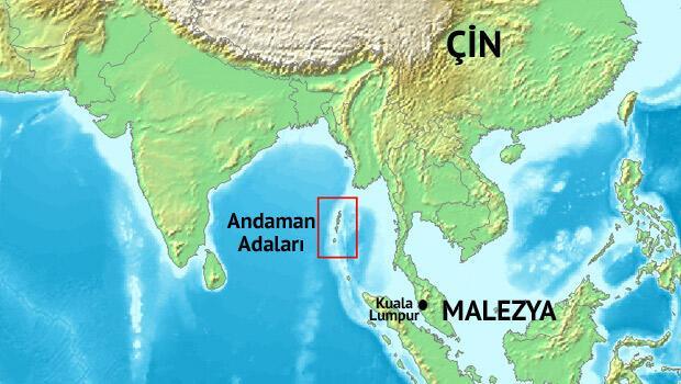 Kayıp Malezya uçağı Andaman Adaları'na gidiyormuş