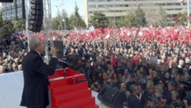 Onbinlerce kişi Tandoğan'da