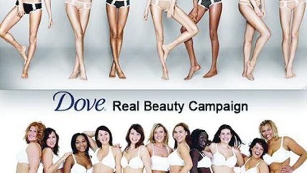 dove and real beauty
