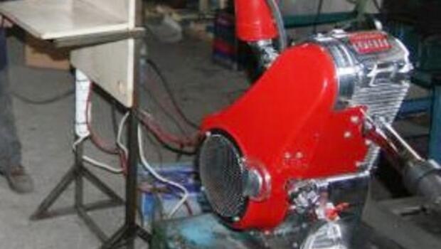 Ay yıldızlı Türk motoruna uluslararası patent aldı