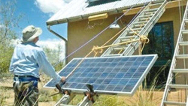 Evde elektrik üretme kuyruğu