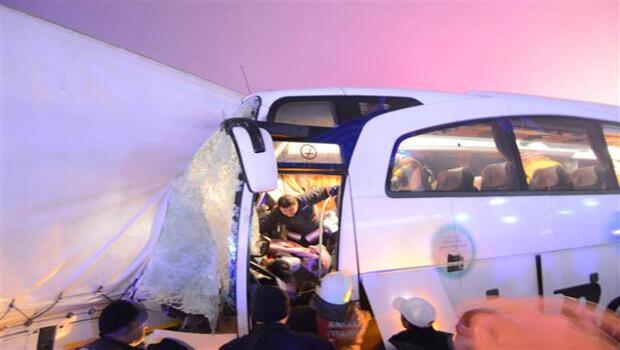 Konya-Ankara Karayolunda zincirleme kaza
