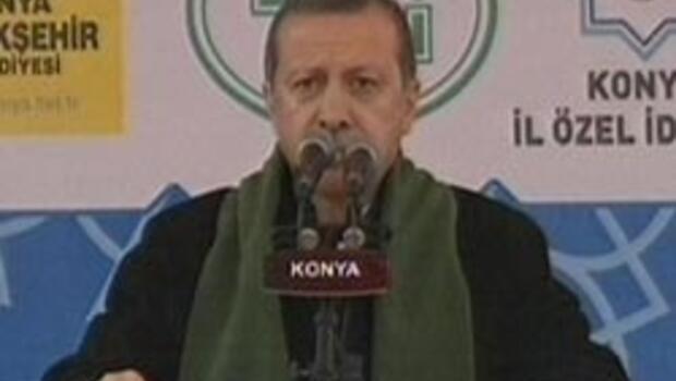 Başbakan Erdoğan Konya'da konuştu