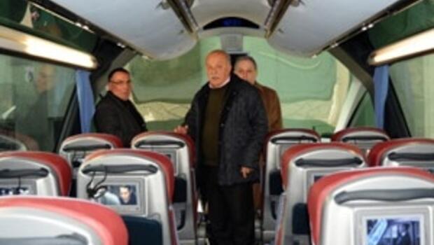 Trabzonspora yeni otobüs