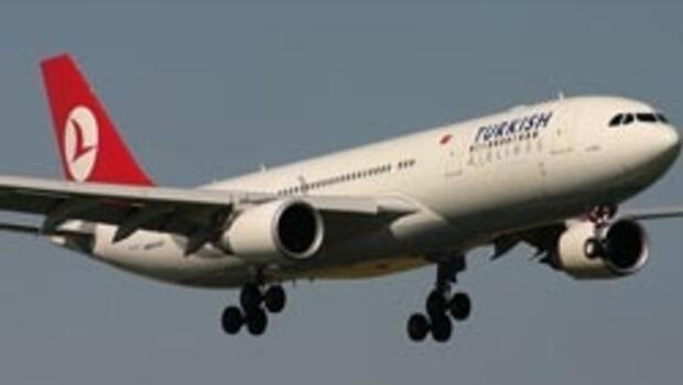 THY yolcu uçağında kavga