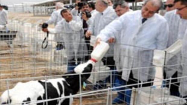 Tarım Bakanı Eker Cıngıllı Tarım ve Hayvancılık Tesisi'ni açtı