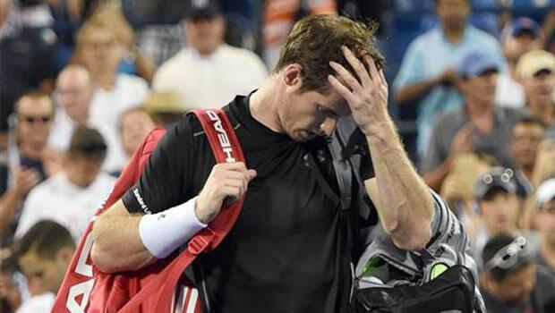 Ve Andy Murray havlu attı