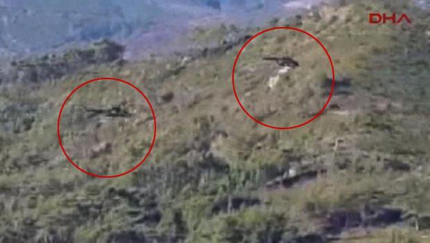 Rus savaş helikopterleri pilotları aradı