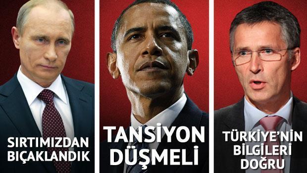 Türkiye ve Rusya tansiyonu düşürmeli
