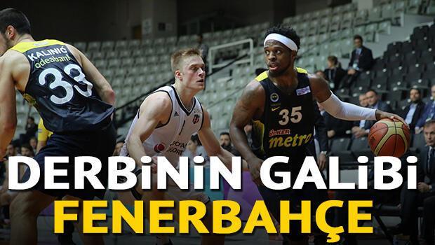 Beşiktaş Sompo Japan: 76 - Fenerbahçe: 91