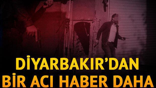 Diyarbakır'daki silahlı saldırıya ilişkin görüntüler MOBESE'de