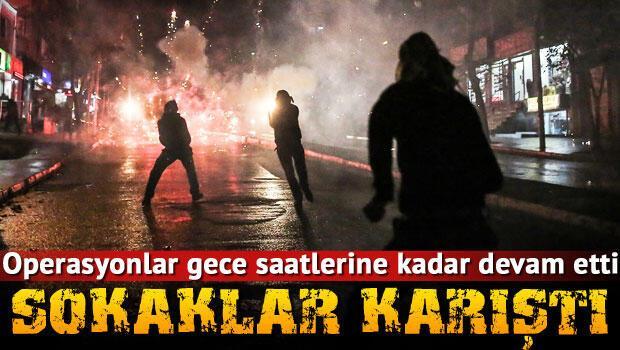 Tahir Elçi'nin öldürülmesinin ardından Diyarbakır'da olaylar çıktı